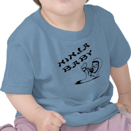 Ninja Baby T Shirts