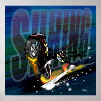 Ninja Biker Poster