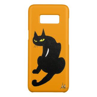 NINJA BLACK CAT Yellow Case-Mate Samsung Galaxy S8 Case