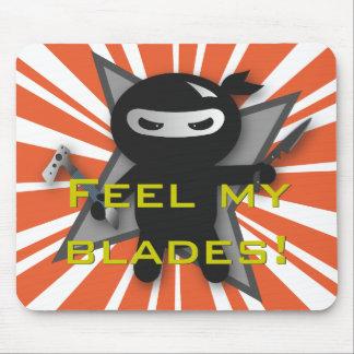 Ninja Blades Mouse Pad
