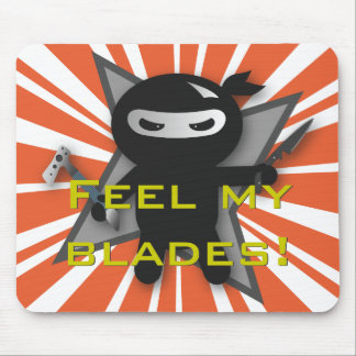 Ninja Blades Mousepads