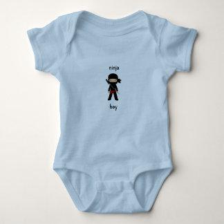 ninja boy baby bodysuit