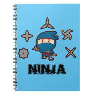Ninja Boy Spiral Notebook