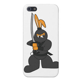 Ninja Bunny iPhone 5/5S Cover
