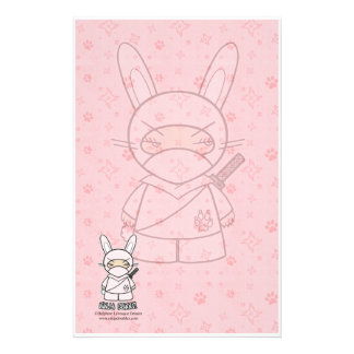 Ninja Bunny! Stationery