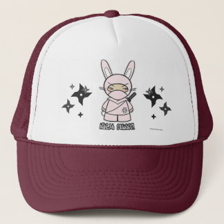 Ninja Bunny! With Shurikens Hat