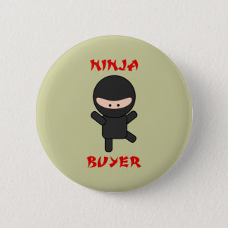 ninja buyer 6 cm round badge