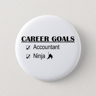 Ninja Career Goals - Accountant 6 Cm Round Badge