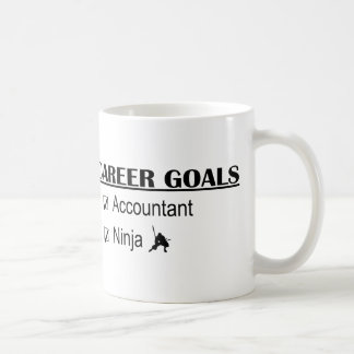 Ninja Career Goals - Accountant Basic White Mug