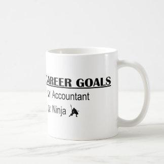 Ninja Career Goals - Accountant Coffee Mugs
