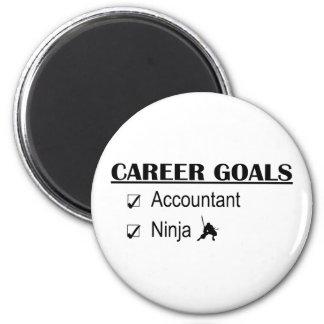 Ninja Career Goals - Accountant Magnet