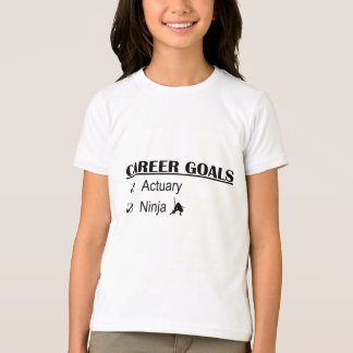 Ninja Career Goals - Actuary T-Shirt