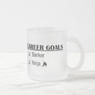 Ninja Career Goals - Banker Coffee Mugs