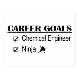 Ninja Career Goals - Chemical Engineer Postcards