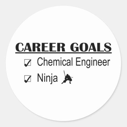 Ninja Career Goals - Chemical Engineer Stickers