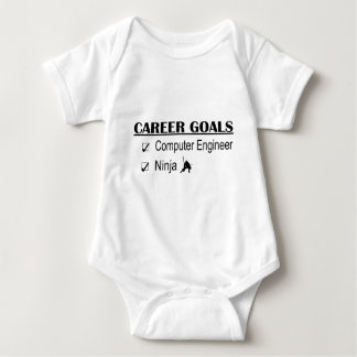 Ninja Career Goals - Computer Engineer Baby Bodysuit