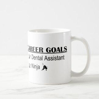 Ninja Career Goals - Dental Assistant Coffee Mug