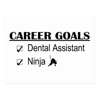 Ninja Career Goals - Dental Assistant Postcard