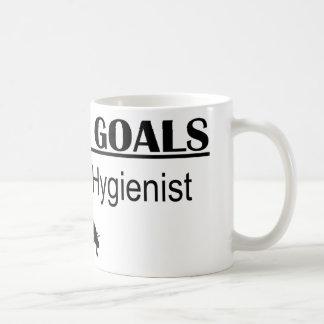 Ninja Career Goals - Dental Hygienist Mugs