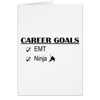 Ninja Career Goals - EMT Card