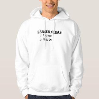 Ninja Career Goals - Engineer Sweatshirts