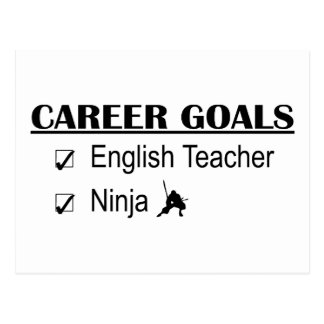 Ninja Career Goals - English Teacher Postcard