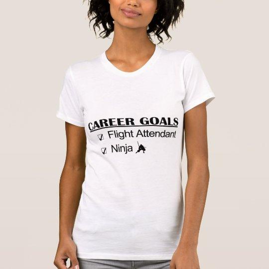 Ninja Career Goals - Flight Attendant T-Shirt