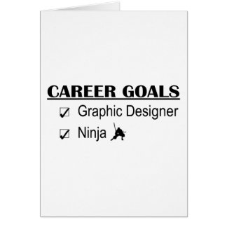 Ninja Career Goals - Graphic Designer Card