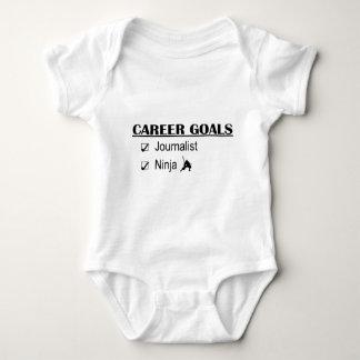 Ninja Career Goals - Journalist Baby Bodysuit