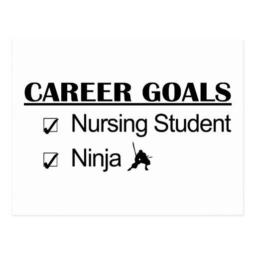 Ninja Career Goals - Nursing Student Post Card
