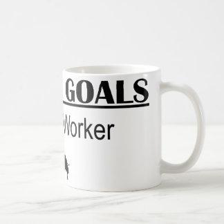 Ninja Career Goals - Postal Worker Coffee Mug