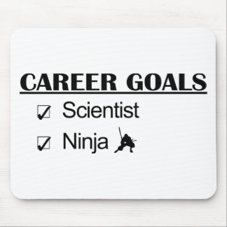 Ninja Career Goals - Scientist Mouse Mat