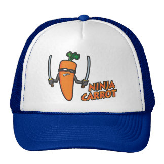 Ninja Carrot Cap