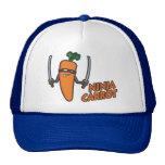 Ninja Carrot Mesh Hats