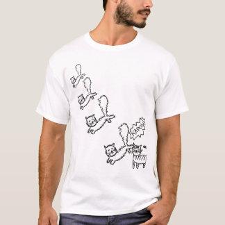 Ninja Cat Attack T-Shirt