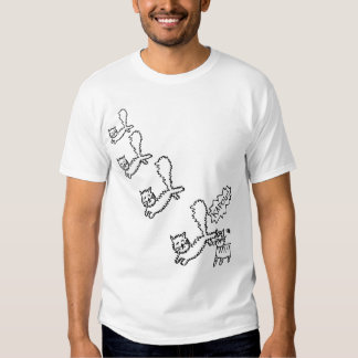 Ninja Cat Attack Tshirt