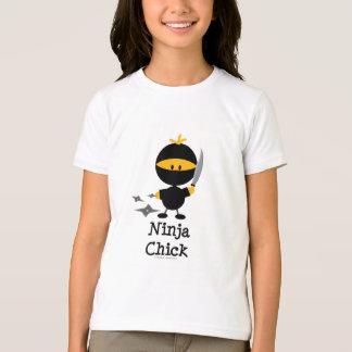 Ninja Chick Kids Tee Shirt