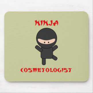 ninja cosmetologist mouse pad