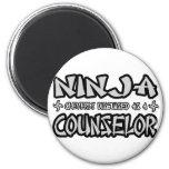Ninja...Counsellor Fridge Magnets
