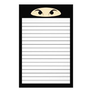 Ninja Custom Stationery