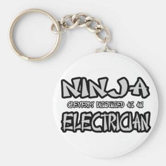 Ninja...Electrician Keychain