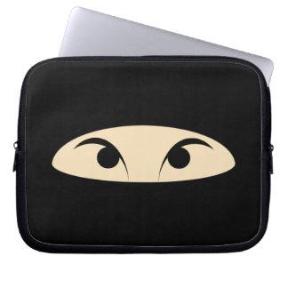 Ninja Face Laptop Sleeve