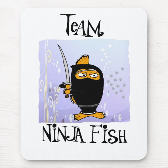 ninja fish mousepad