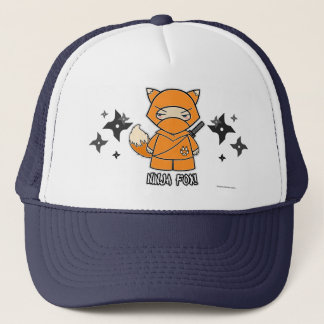 Ninja Fox! With Shurikens Hat