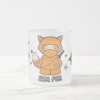 Ninja Fox With Shurikens Mug