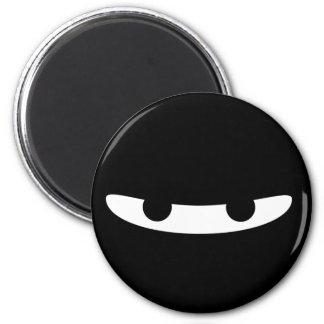 Ninja Glare! 6 Cm Round Magnet
