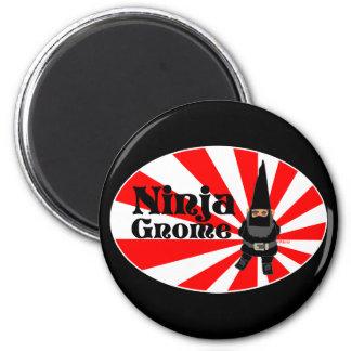 Ninja Gnome Magnet