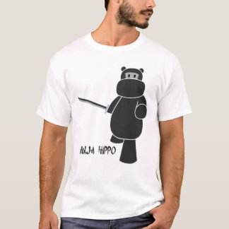 Ninja Hippo - Ready for battle T-Shirt