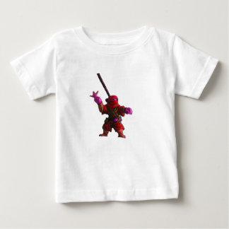 Ninja in Red Baby T-Shirt