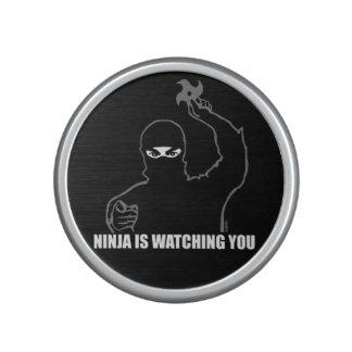 Ninja is watching you bluetooth speaker